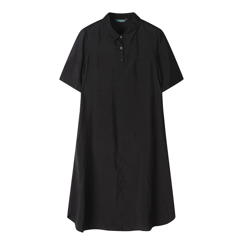 셔츠형 인견 원피스 _CL0MOP502