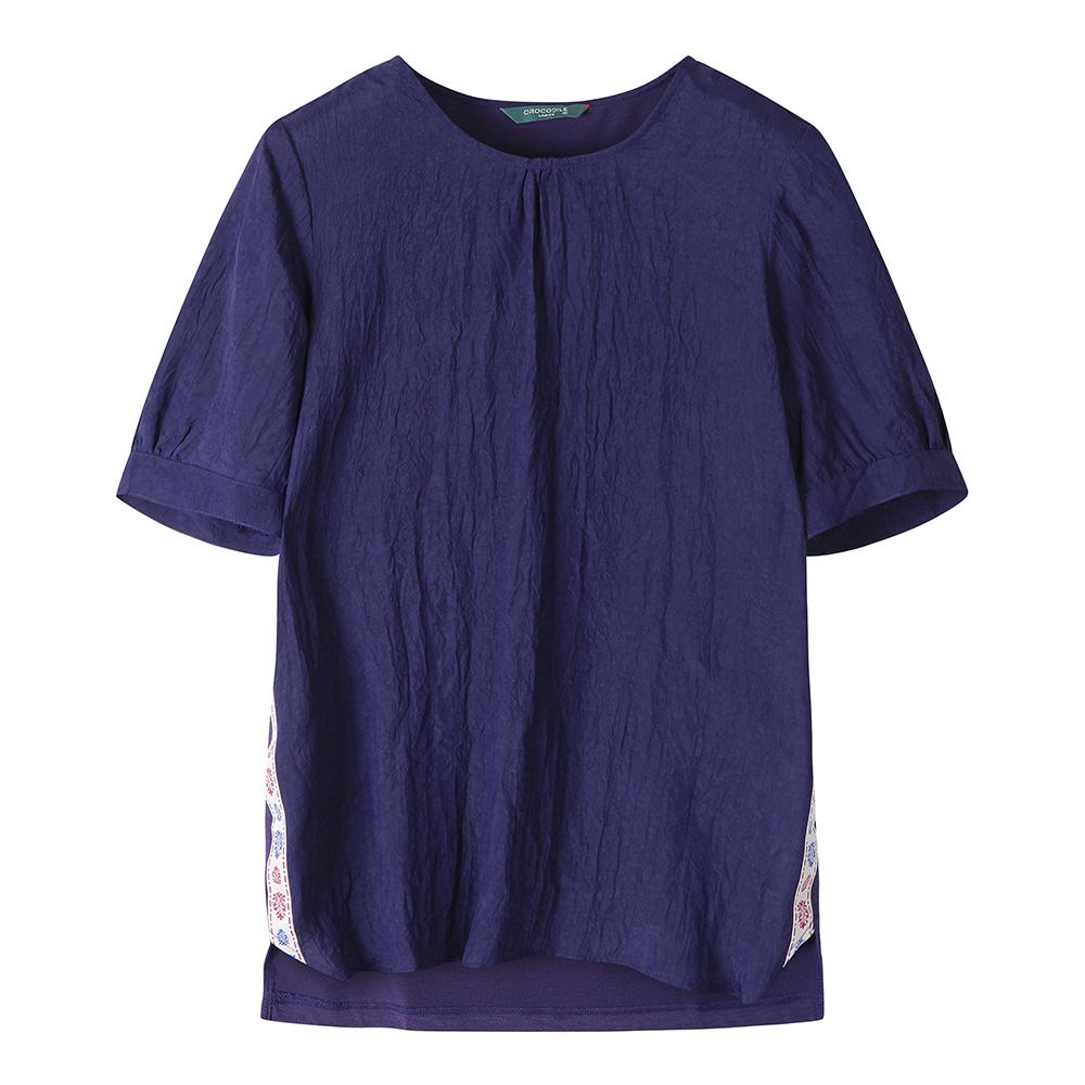 옆선 테이프 티셔츠_CL0MTS118
