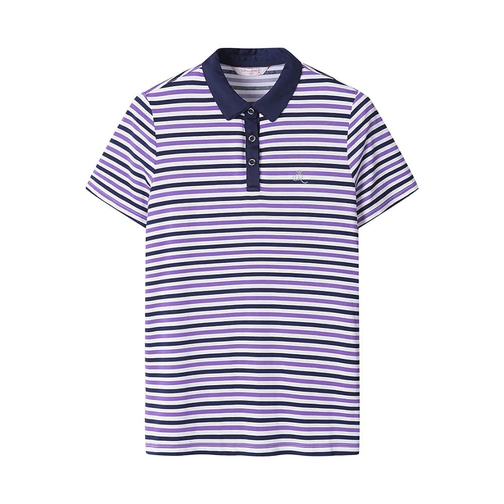 스트라이프 인견 기본카라 티셔츠_CL0MTS502