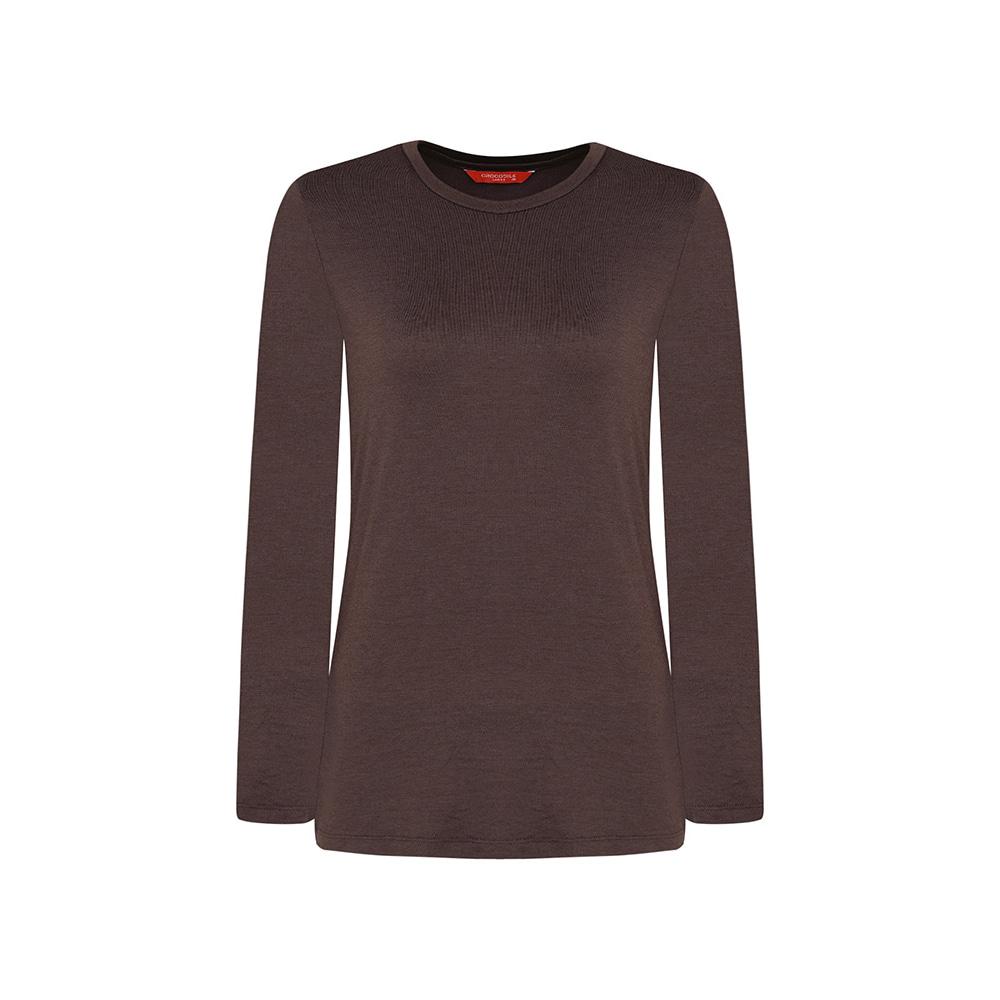 리얼웜 라운드넥 발열 티셔츠 CL0WUW901