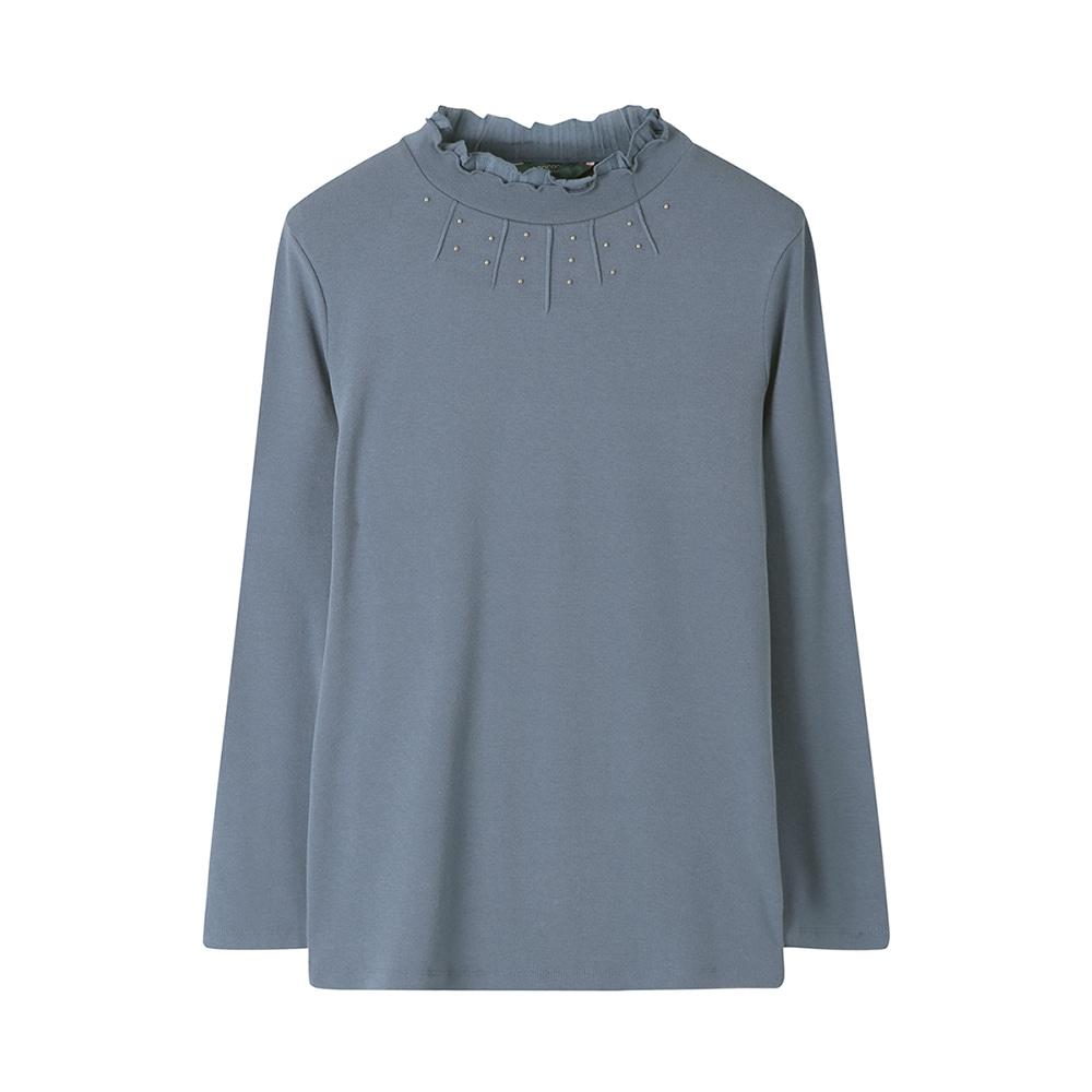 비즈장식 풀오버 티셔츠_CLAFTS109