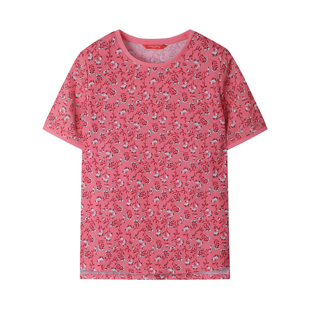 꽃무늬 티셔츠_CLAMTS803