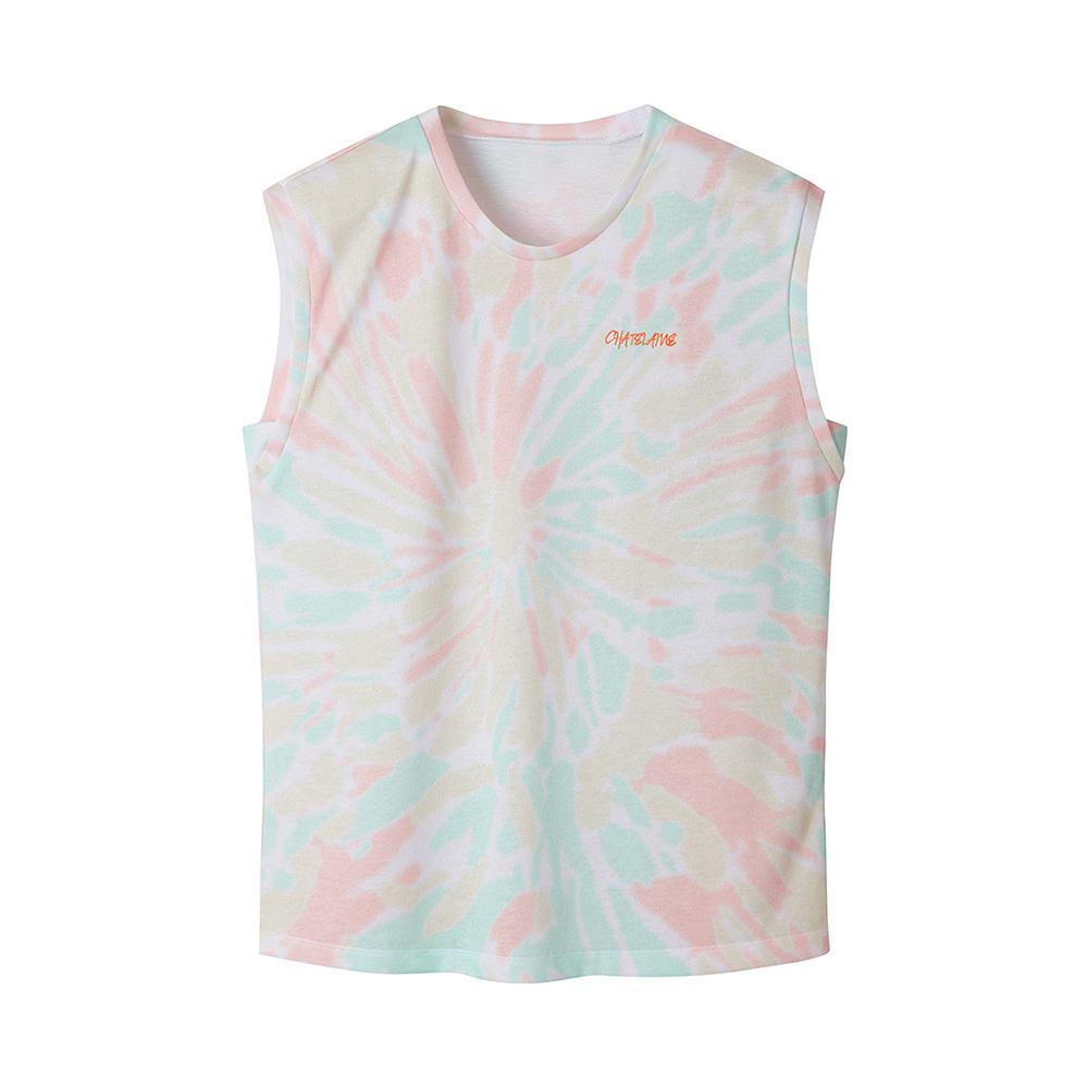나염 프린트 티셔츠_HC0MTS115
