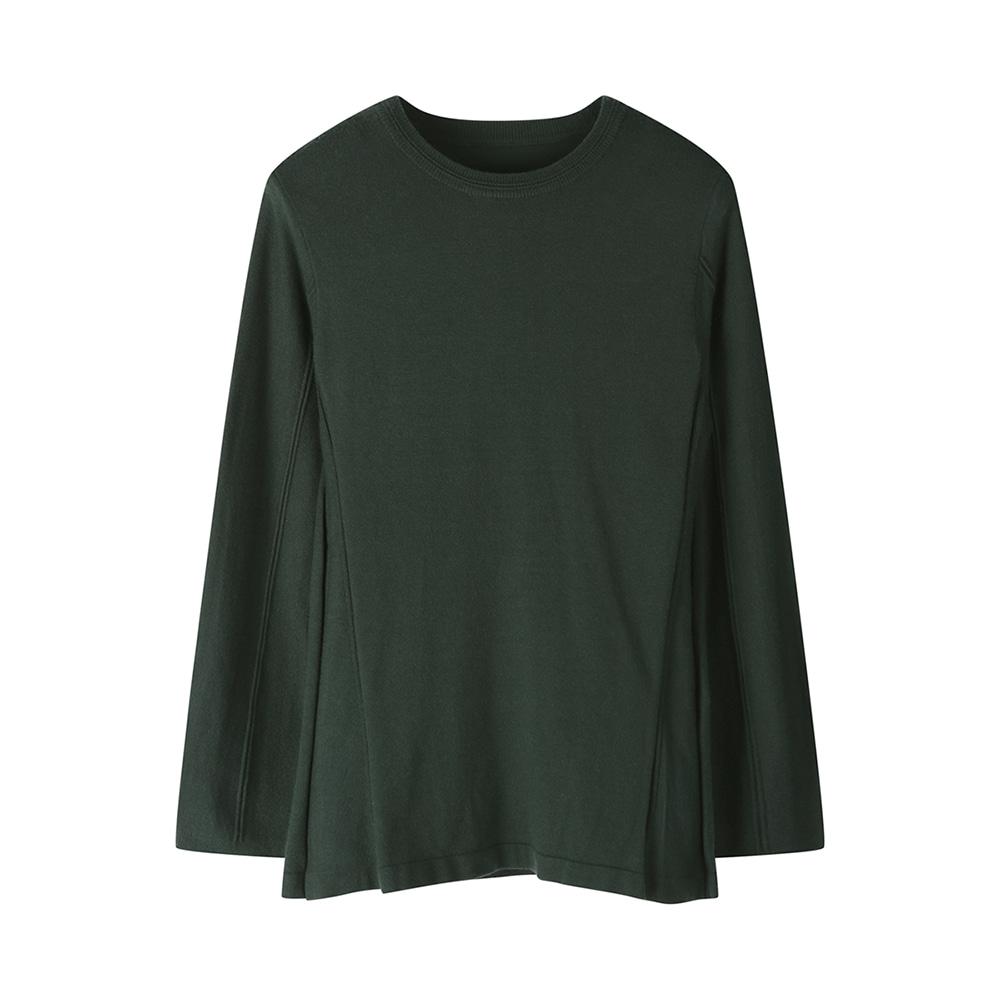 옆라인 포인트 절개 티셔츠_HC0WSW201