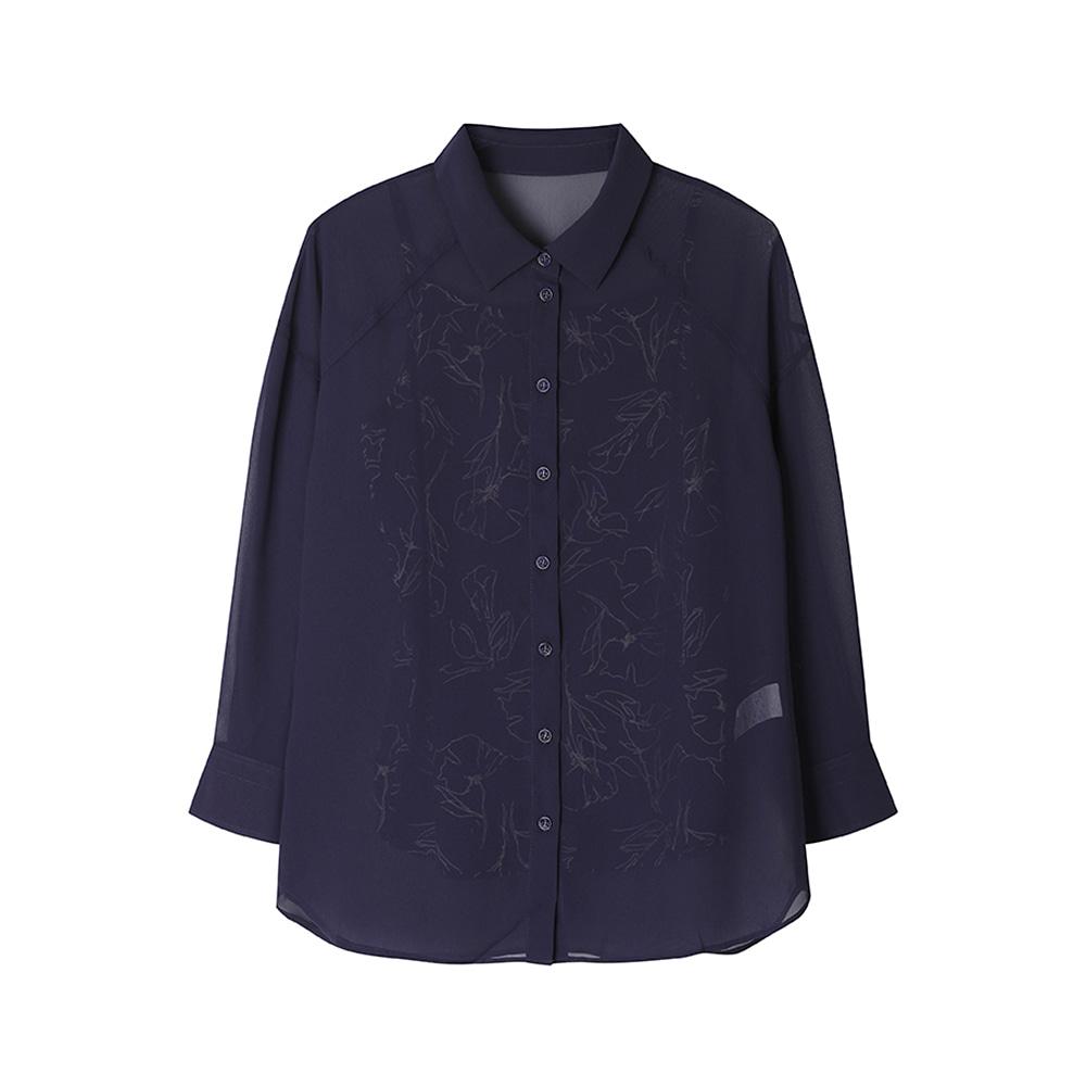 시스루 셔츠 블라우스_HCAMTS201