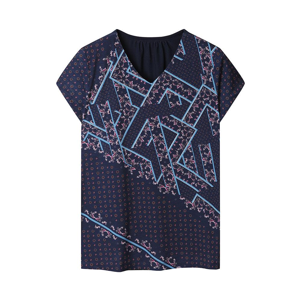 져지 캡소매 티셔츠_OH0MTS216