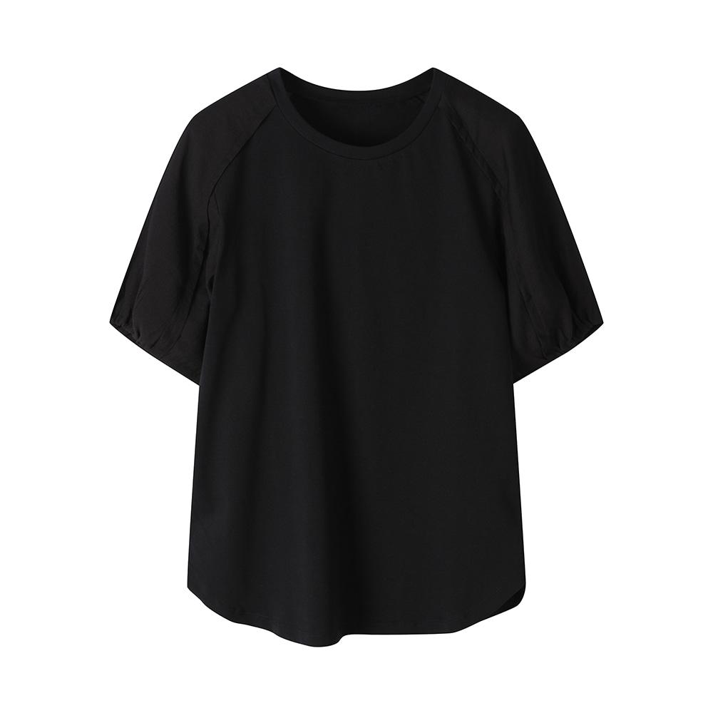 퍼프 소매 티셔츠_OHAMTS402