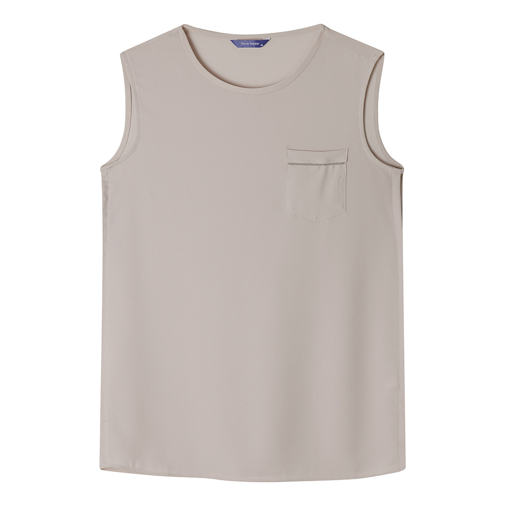 포켓포인트 민소매 티셔츠_OHAMTS903